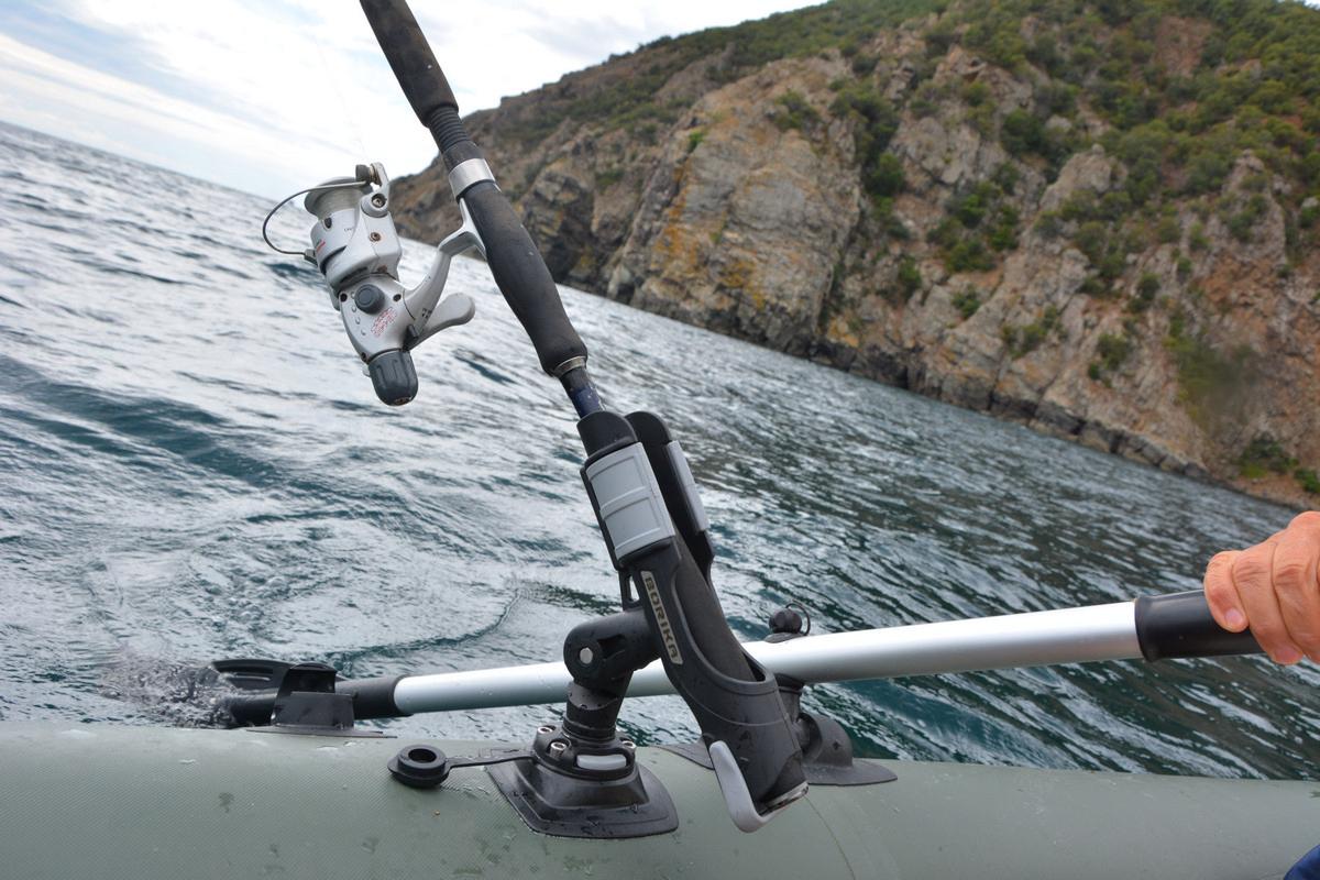 Длина спиннинг для лодки