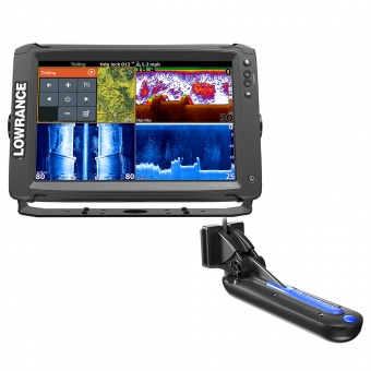 Эхолот-картплоттер Lowrance Elite-12Ti Mid/High/TotalScan